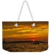Thacher Island Lights Weekender Tote Bag