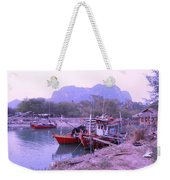 Thai Fishing Boats 05 Weekender Tote Bag