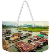 Thai Floating Village Weekender Tote Bag