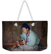 Thai Weaving Tradition Weekender Tote Bag