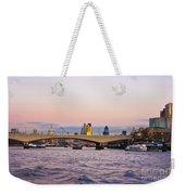 Thames Glow Weekender Tote Bag