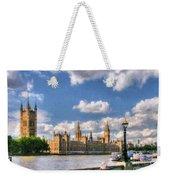 Thames River In London # 3 Weekender Tote Bag