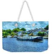 Thames Tug Boat Weekender Tote Bag