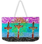 Thank God For Good Friday 3 Weekender Tote Bag
