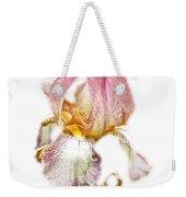 Thank You Greeting Items - Bearded Iris Weekender Tote Bag