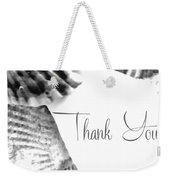 Thank You Seashell Weekender Tote Bag