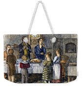 Thanksgiving, 1853 Weekender Tote Bag