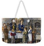 Thanksgiving, 1853 Weekender Tote Bag