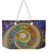 Thanksgiving Chapel Stained Glass Weekender Tote Bag