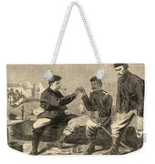 Thanksgiving Day In The Army Weekender Tote Bag