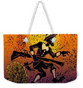 Thanksgiving Pilgrim Weekender Tote Bag