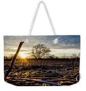 Thanksgiving Sunrise Weekender Tote Bag