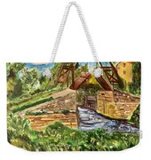 The Langloise Bridge Weekender Tote Bag