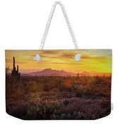 That Golden Light  Weekender Tote Bag