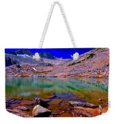 That Is The Glacier Up There Weekender Tote Bag