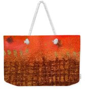 That Long Brown Fence Dividing You And Me Weekender Tote Bag