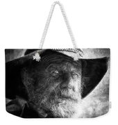 That Ol' Devil Ain't Caught Me Yet. Weekender Tote Bag