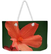 That Orange Flower Weekender Tote Bag