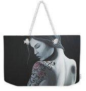 That Tattoo Girl Weekender Tote Bag