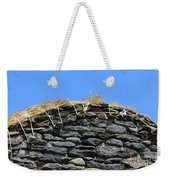 Thatched Cottage Gable Weekender Tote Bag