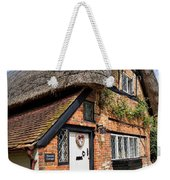 Thatched Cottages In Chawton 4 Weekender Tote Bag