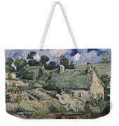 Thatched Cottages In Jorgus Weekender Tote Bag