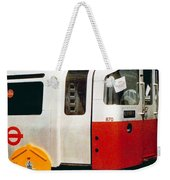 That'll Be The Day - Locomotive - London Underground - Retro Travel Poster - Vintage Poster Weekender Tote Bag