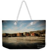 Thawing Saugatuck  Weekender Tote Bag