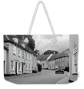 Thaxted Cottages In Black And White Weekender Tote Bag