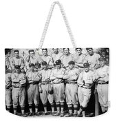 The 1911 New York Giants Baseball Team Weekender Tote Bag