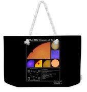 The 2012 Transit Of Venus Weekender Tote Bag