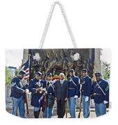 The 54th Regiment Bos2015_191 Weekender Tote Bag