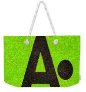 The A With Style Lime - Pa Weekender Tote Bag