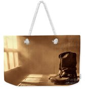 The Abandoned Boots  Weekender Tote Bag