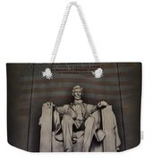 The Abraham Lincoln Memorial Weekender Tote Bag