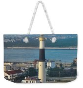 The Absecon Lighthouse In Atlantic City New Jersey Weekender Tote Bag