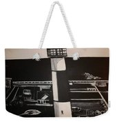 The Absecon Lighthouse Weekender Tote Bag