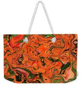 The Abstract Days Of Autumn Weekender Tote Bag