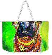 The Abstract Mastiff Weekender Tote Bag