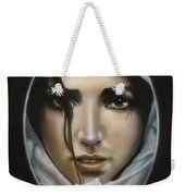 The Face In The Mirror Weekender Tote Bag