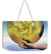 The Ace Of Coins Weekender Tote Bag