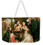 The Acquittal Weekender Tote Bag by Abraham Solomon