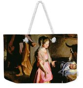 The Adoration Of The Child Weekender Tote Bag