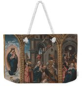 The Adoration Of The Kings Weekender Tote Bag