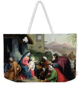 The Adoration Of The Magi Weekender Tote Bag by Jean Pierre Granger