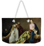 The Adoration Of The Magi Weekender Tote Bag by Pieter Fransz de Grebber