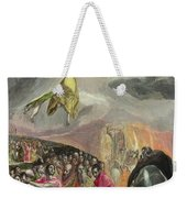 The Adoration Of The Name Of Jesus Weekender Tote Bag