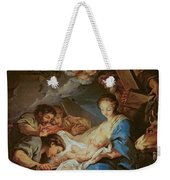 The Adoration Of The Shepherds Weekender Tote Bag by Charle van Loo