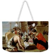 The Adoration Of The Shepherds Weekender Tote Bag by Louis Le Nain