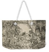 The Adoration Of The Shepherds: With The Lamp Weekender Tote Bag